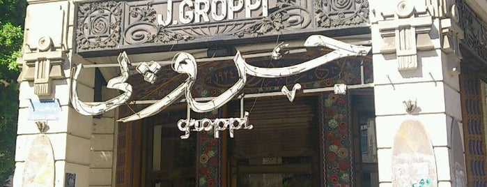 Groppi is one of Cairo.