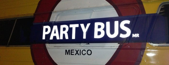 Party Bus is one of Entretenimiento CMDX.