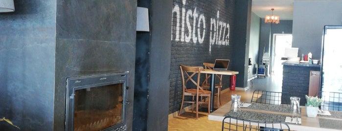Misto Pizza  Coffe & Ristorante is one of Gidilecekler.