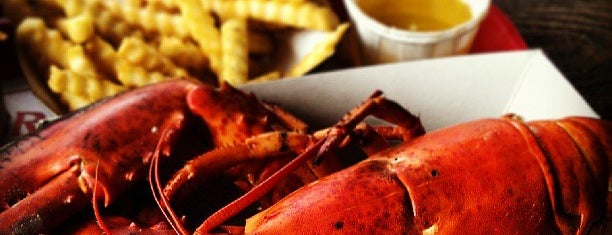 The Lobster Shack is one of Maine.