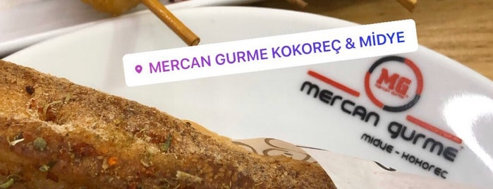 Mercan Gurme ( Kokoreç , Midye ) is one of Lugares guardados de Oguz.