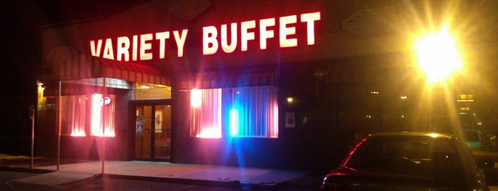 Variety Buffet is one of check ins.