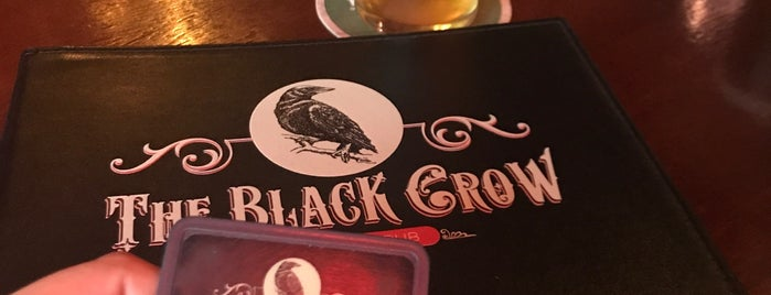 The Black Crow is one of SP | Barzinhos.