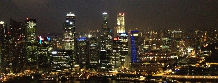 Sands SkyPark is one of Singapore.