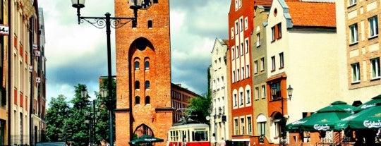 Elbląg is one of Tempat yang Disukai Tomek.