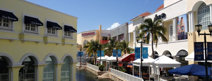 La Isla Shopping Village is one of Cancún, MEX.