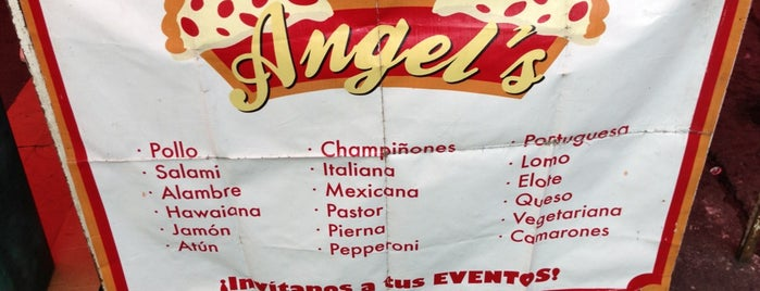 Pizzas & Pays Angel's is one of Coca cola.