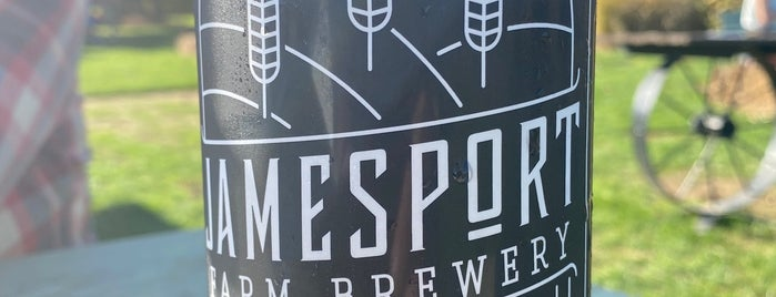 Jamesport Farm Brewery is one of Posti salvati di Rachel.