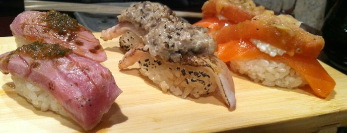 Sushi of Gari is one of NYC - One Star Michelin Restaurants.