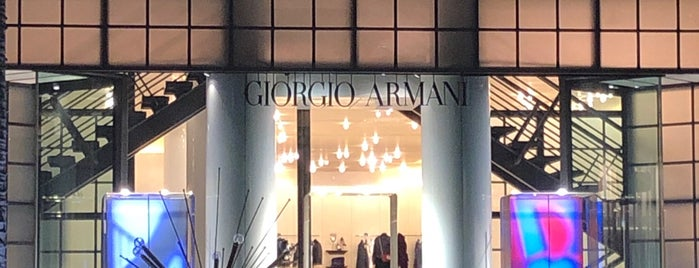 Giorgio Armani is one of app check!!1.