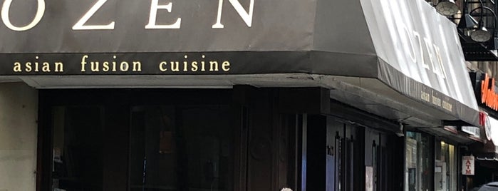 Ozen Asian Fusion Cuisine is one of NYC.
