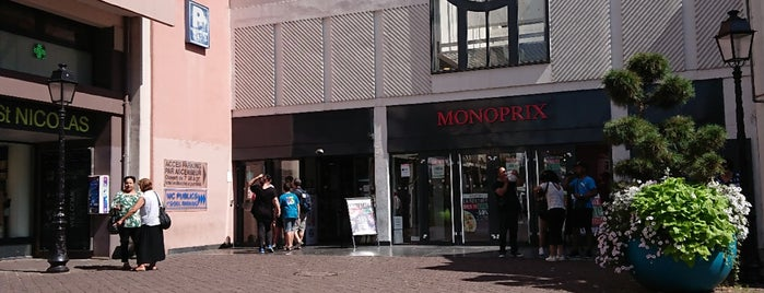 Monoprix is one of Colmar sarapp yolu.