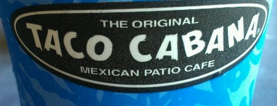Taco Cabana is one of Locais curtidos por ashley.