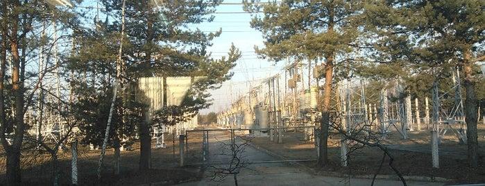 ПС 220 кВ Литейная is one of Orte, die Татьяна gefallen.