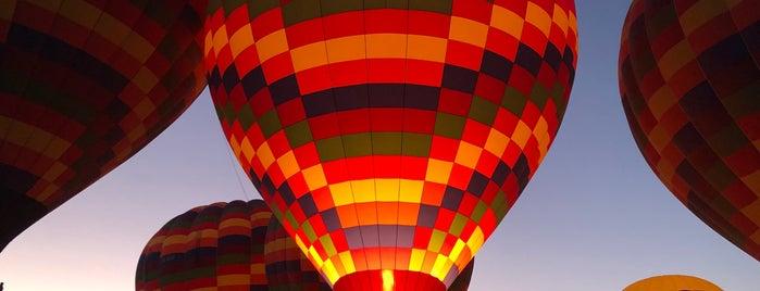 Goreme Balloons  Take Off Area is one of Kapadokya.