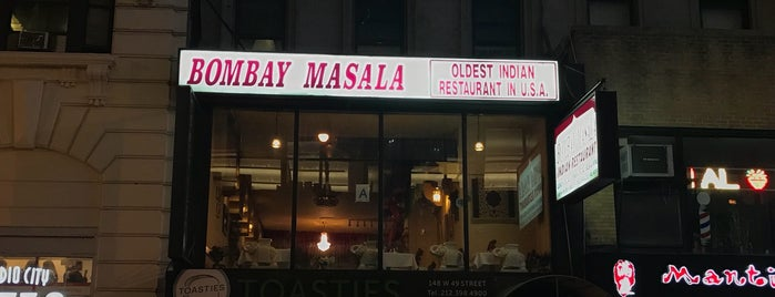 Bombay Masala is one of Favorite eating spots.