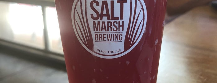 Salt Marsh Brewing is one of Hilton Head & Savannah.