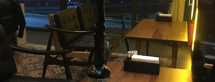 Aromania Hookah Coffee Lounge is one of New İstanbul.