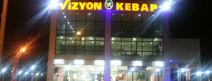 Vizyon Kebap is one of Kebap Yenilebilecek Mekanlar.