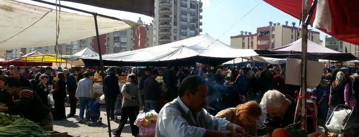 Yüzüncüyıl Semt Pazarı is one of Tempat yang Disukai Veysel.