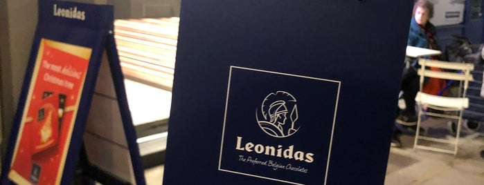 Leonidas is one of london.