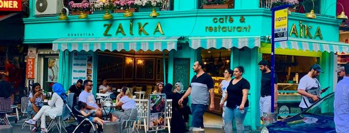 Zaika Cafe is one of Tempat yang Disukai Zeynep.