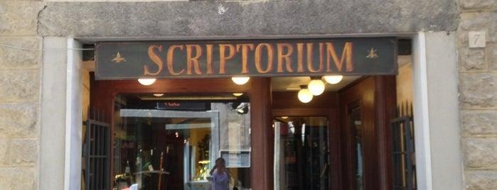 Scriptorium is one of Florence.