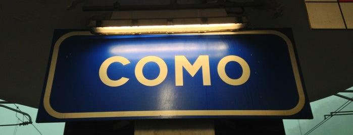 Stazione Como San Giovanni is one of Ilker'in Beğendiği Mekanlar.