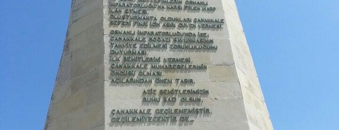 İlk Şehitler Anıtı is one of Canakkale.