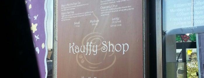 Kauffy Shop is one of Locais salvos de Kelsey.