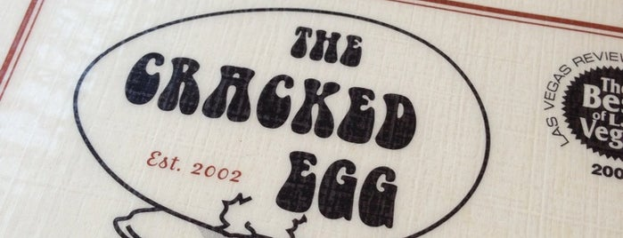 The Cracked Egg is one of Restaurants.