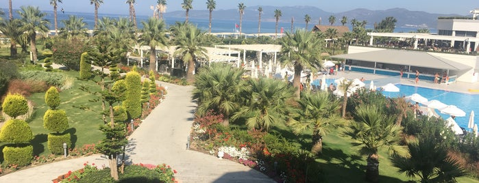 Palm Wings Ephesus Beach Resort & Spa is one of Mehmet Aliさんのお気に入りスポット.