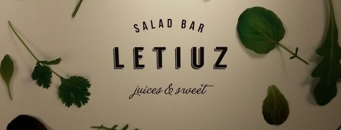 Letiuz Salad Bar is one of Bruxelles - Brunch/Snack.