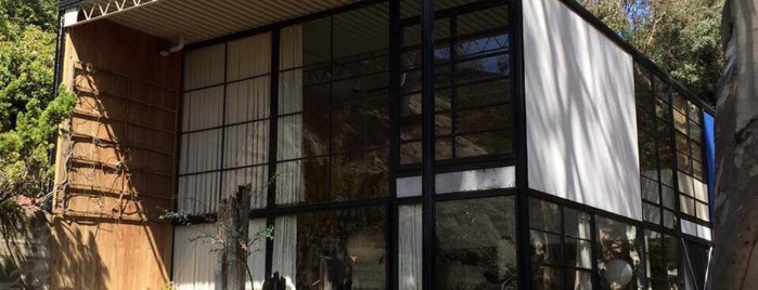 The Eames House (Case Study House #8) is one of Architecture.