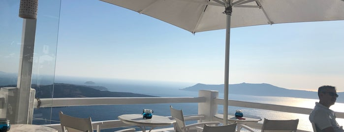 Galini Café is one of Santorini.