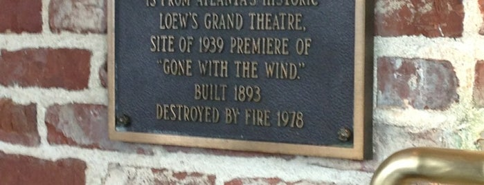 Houston's is one of Gone With the Wind.