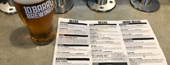 10 Barrel Brewpub is one of A Whale's Vagina.
