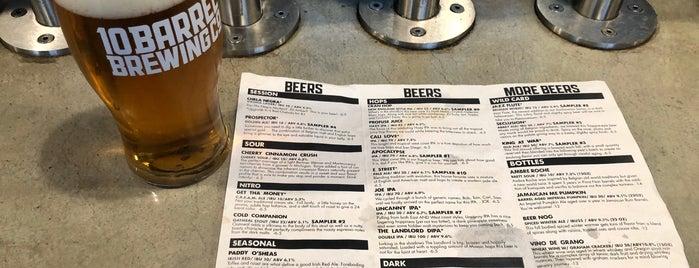 10 Barrel Brewpub is one of San Diego.