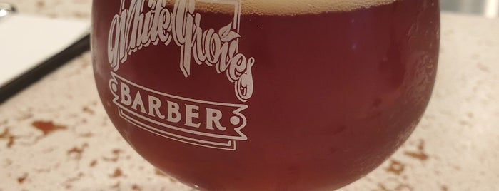 White Groves Barber is one of Loveland Beer Time.