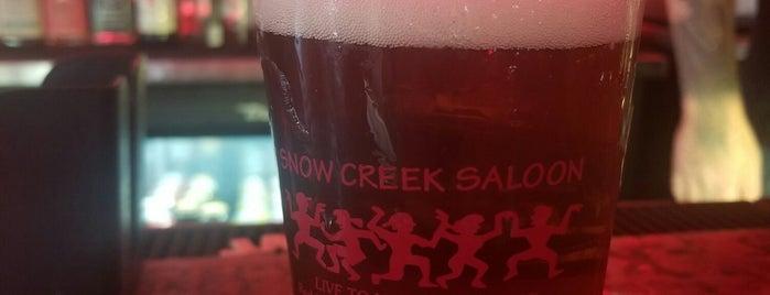 Snow Creek Saloon is one of Orte, die Alika gefallen.