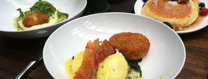 Isola Trattoria & Crudo Bar is one of Best Brunches NYC.