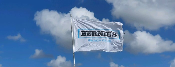 Bernie's Beach Club is one of Best in the Netherlands.