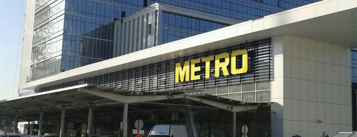 METRO Toptancı Market is one of Locais curtidos por Tugce.