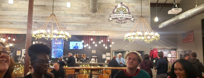 Compass Rose Brewery is one of Things to try in NC.