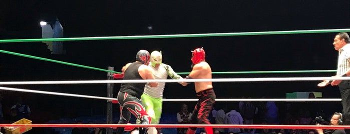 Lucha Libre Elite is one of CDMX.