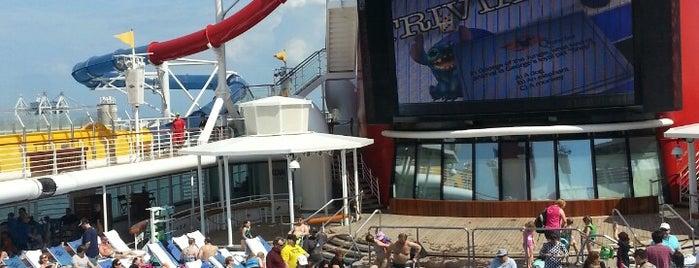 Goofy's Pool, Disney Magic is one of DCL Magic.