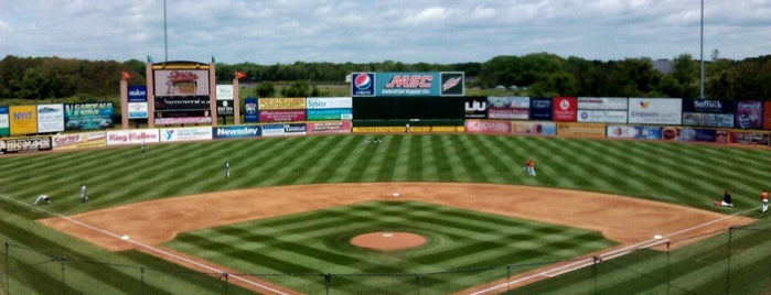 Bethpage Ballpark is one of Atlantic League of Professional Baseball Stadiums.