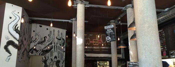 BrewDog Barcelona is one of A comer y a beber.
