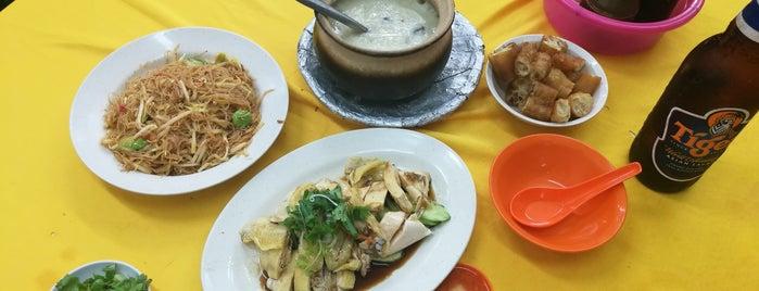 Restaurant Onn Kee Claypot Seafood Porridge is one of Lugares guardados de Kyle.