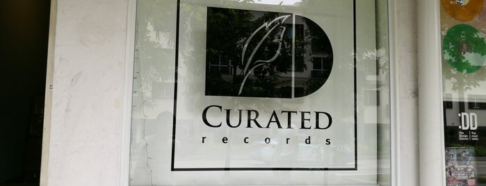 Curated Records is one of Taming the Lion - SG 2019.